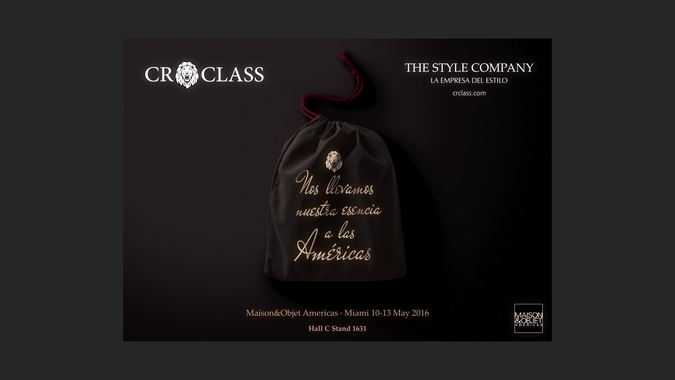 Diseño CR Class Newsletter Maison&Objet Miami