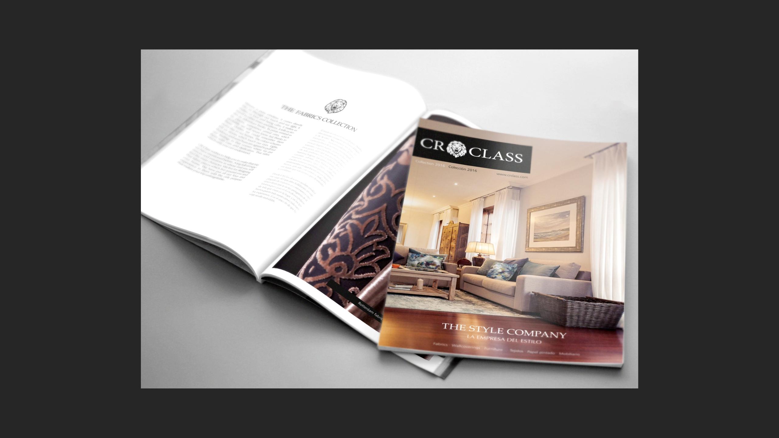 Diseño CR Class Revista impresa promocional 2