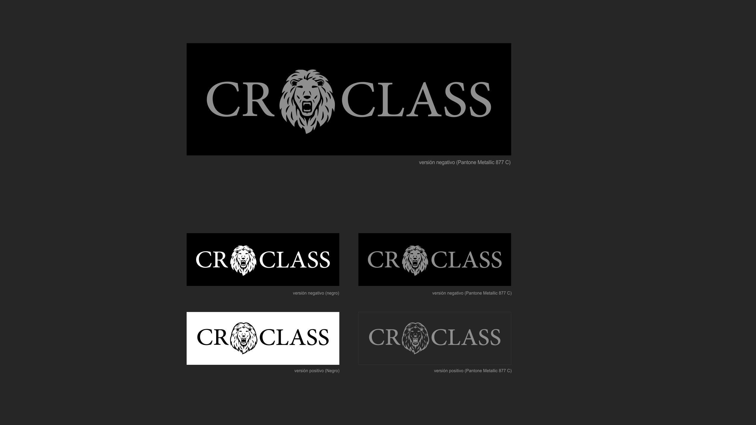 Diseño CR Class logotipo