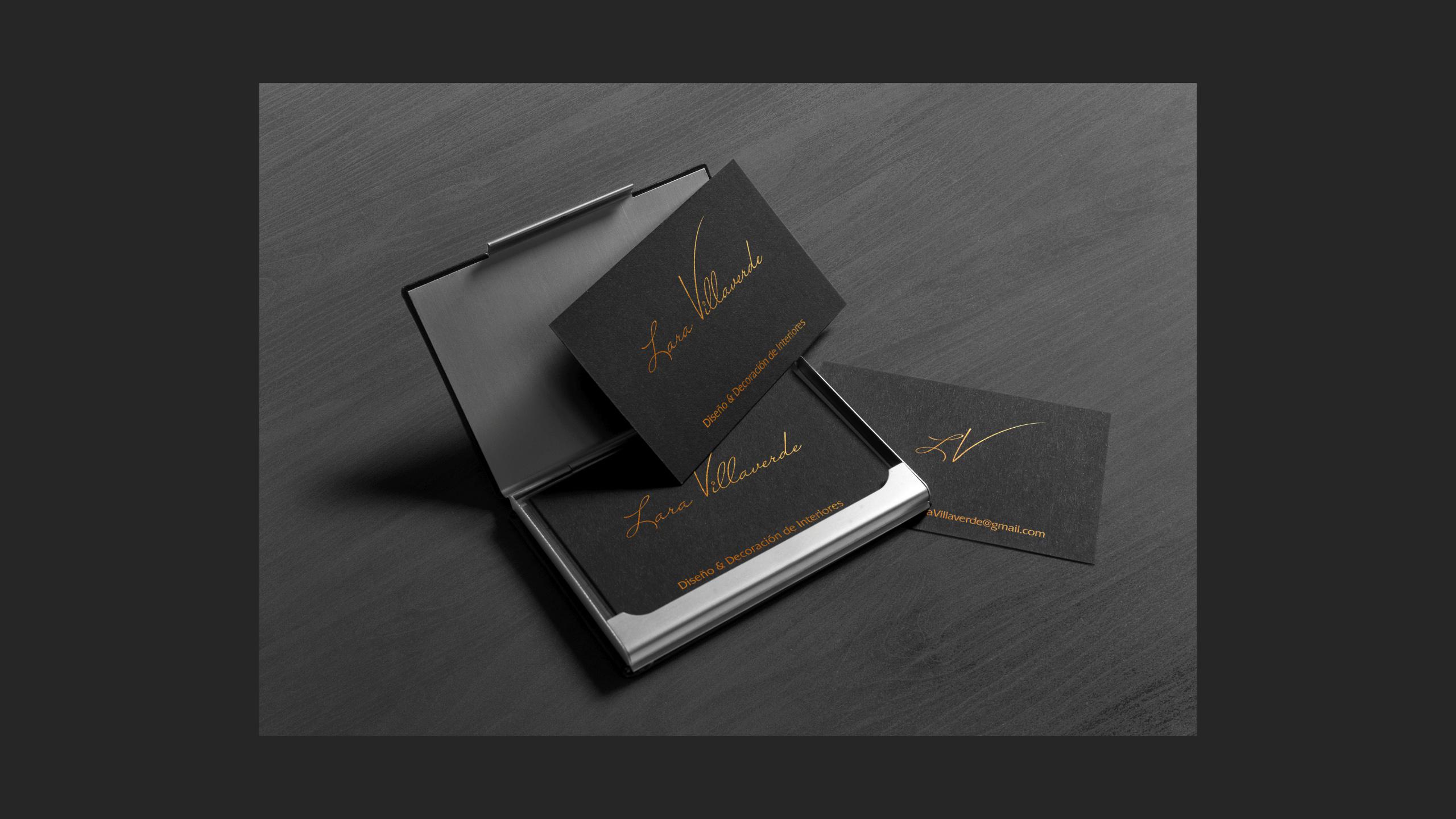 Diseño Lara Villaverde diseño logotipo