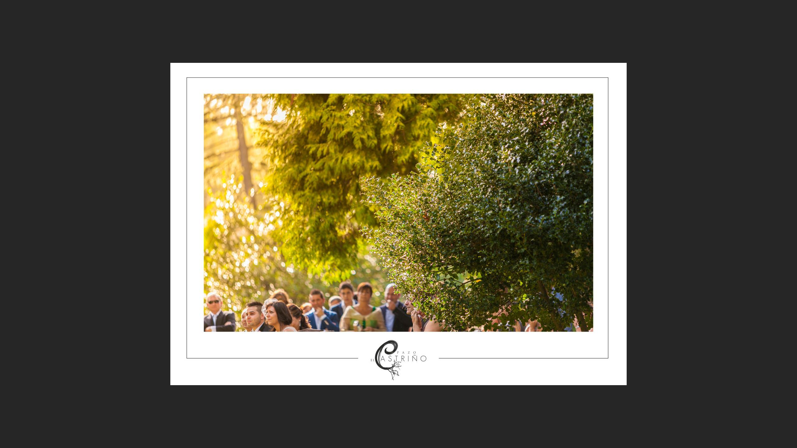 Diseño Pazo O Castriño propuesta diseño postales promocionales 1