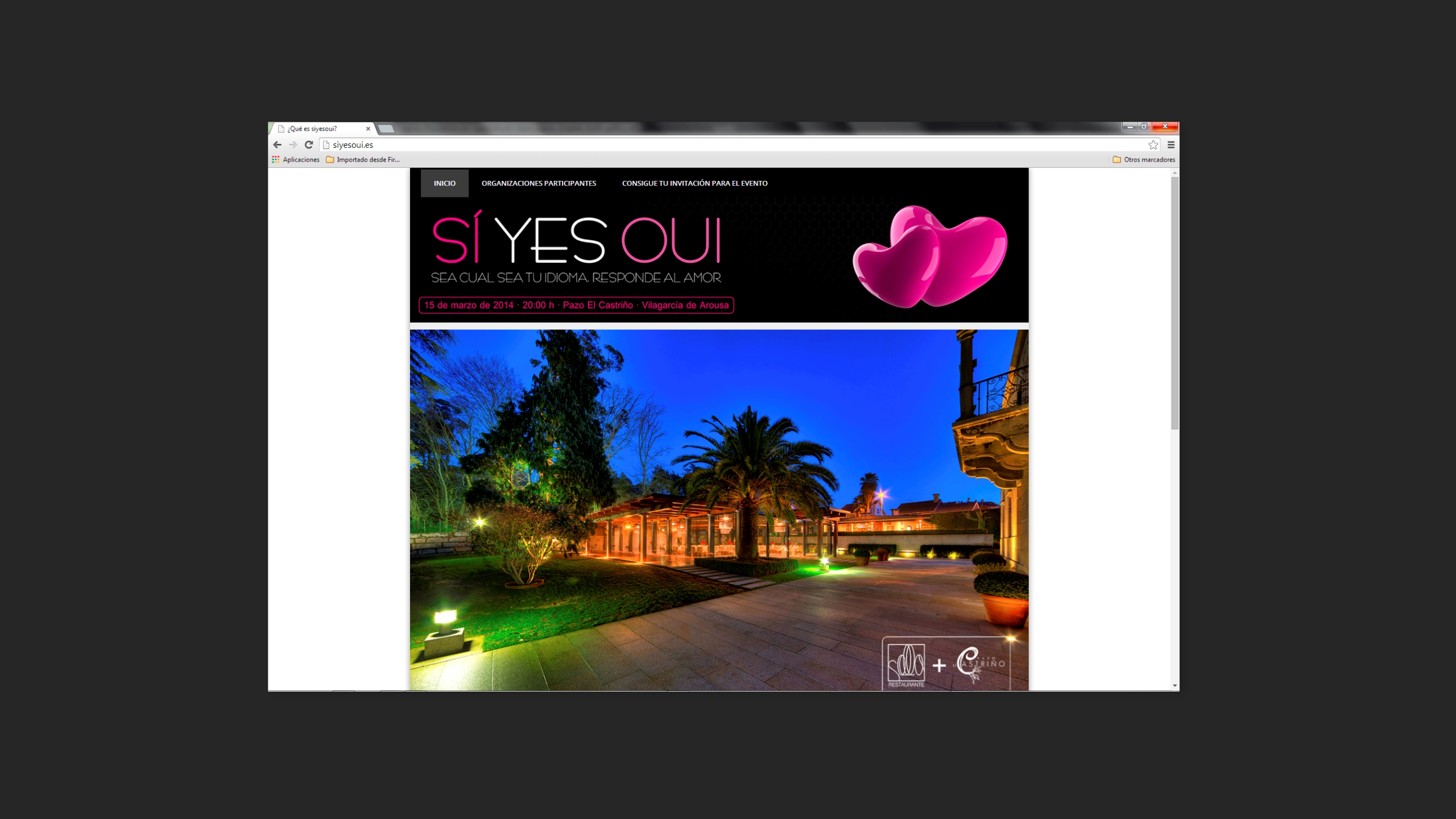 Diseño Siyesoui diagramacion site