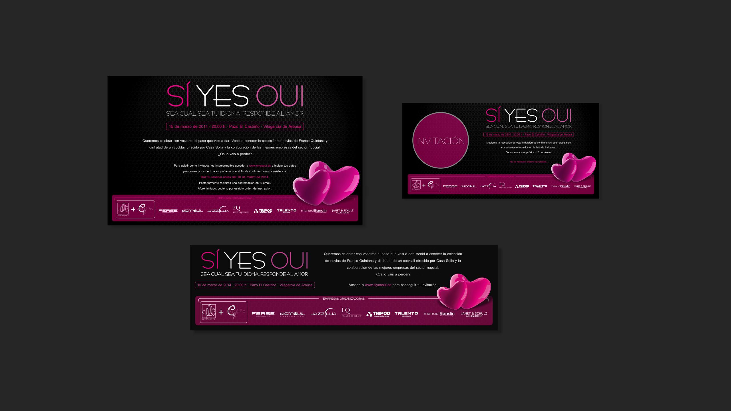 Diseño Siyesoui diseño material promocional