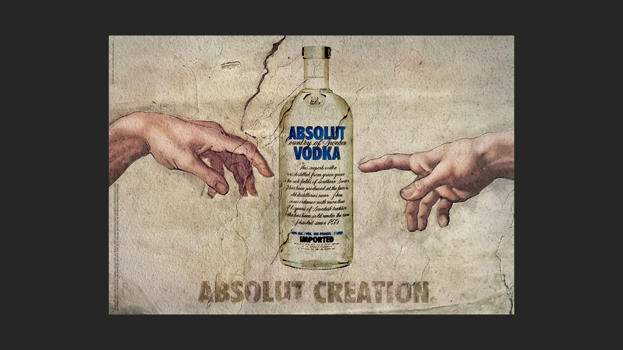 Diseño absolut vodka 2
