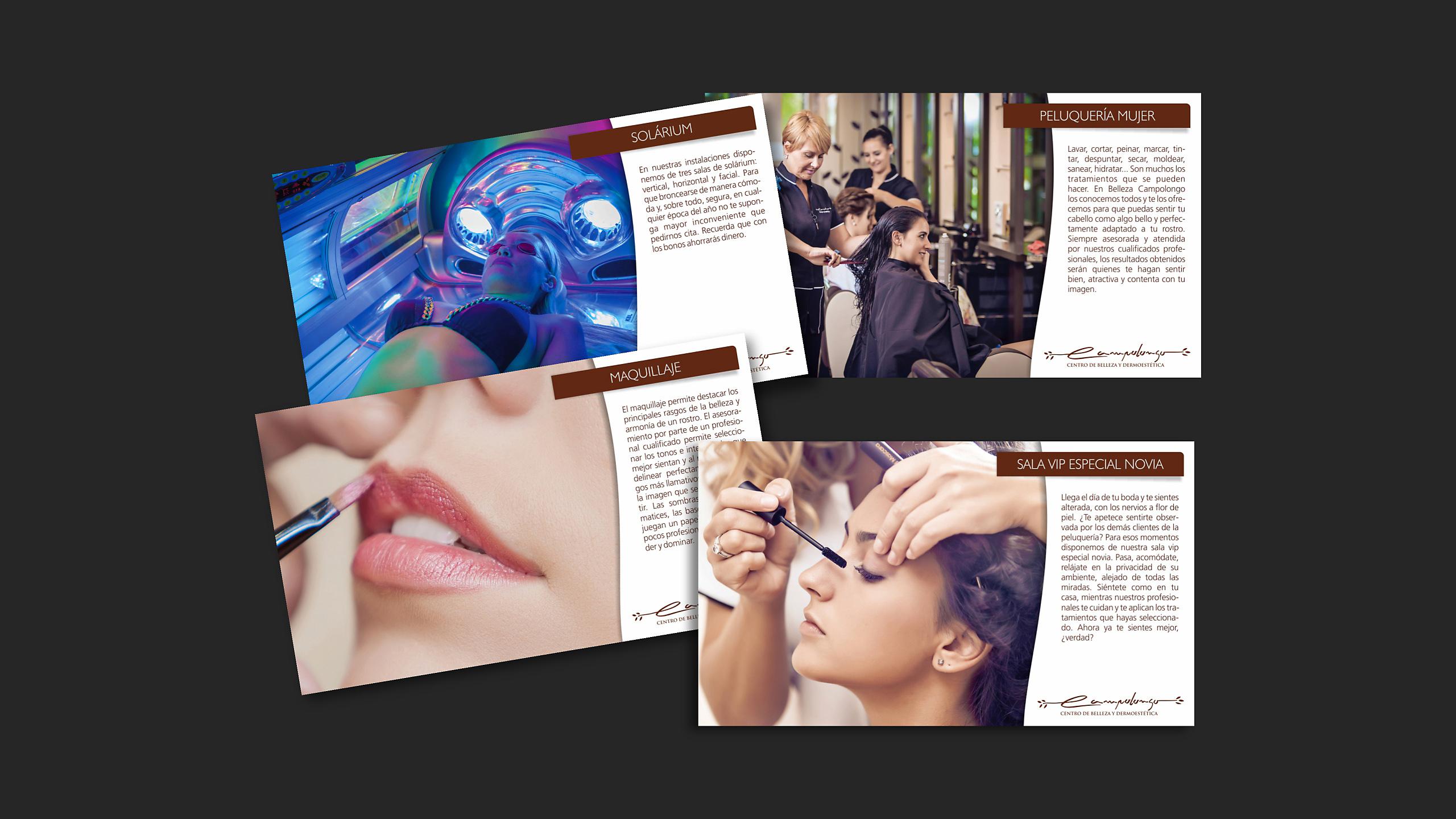 Diseño belleza campolongo catalogo servicios 2