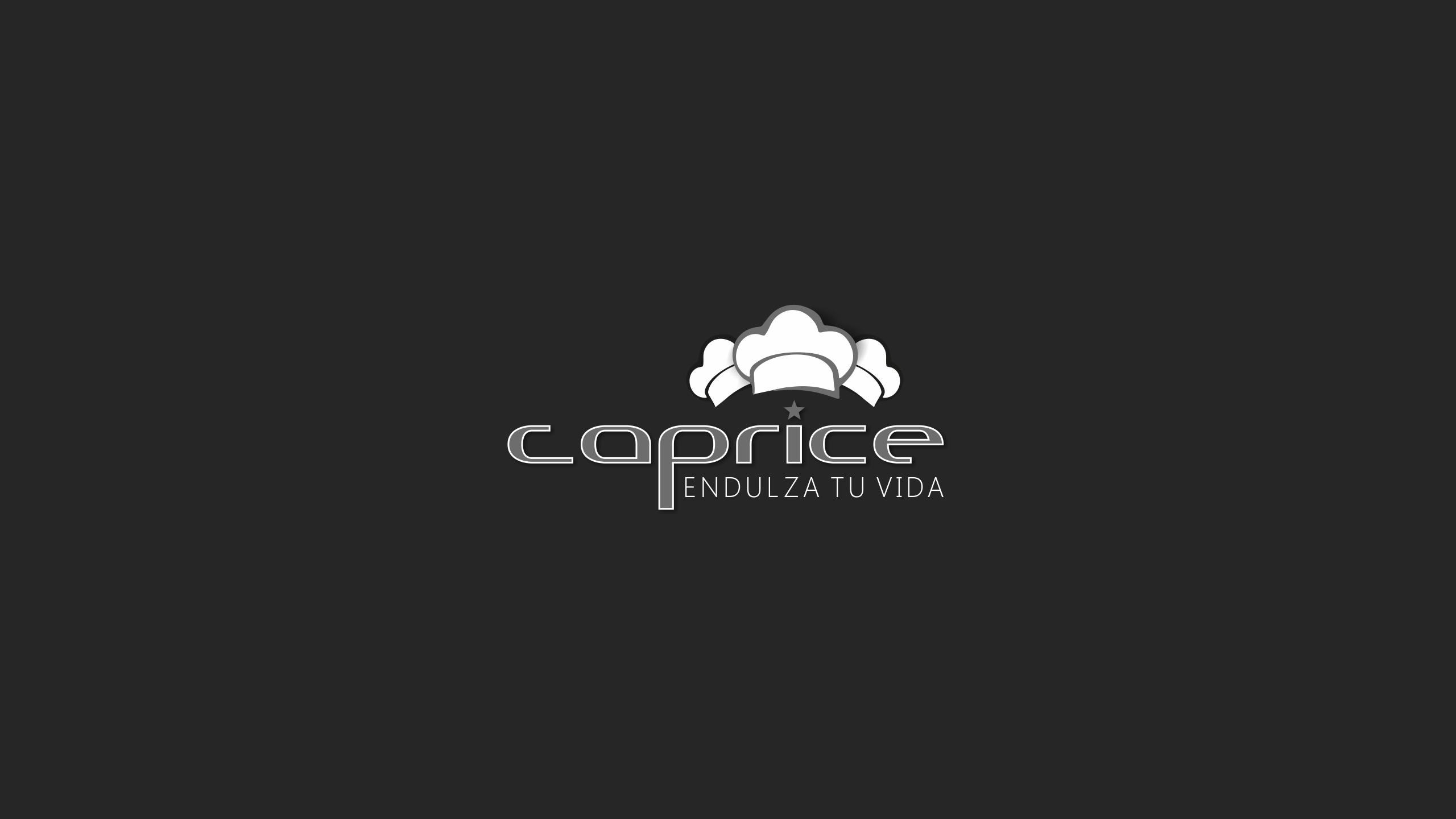 Diseño caprice logotipo