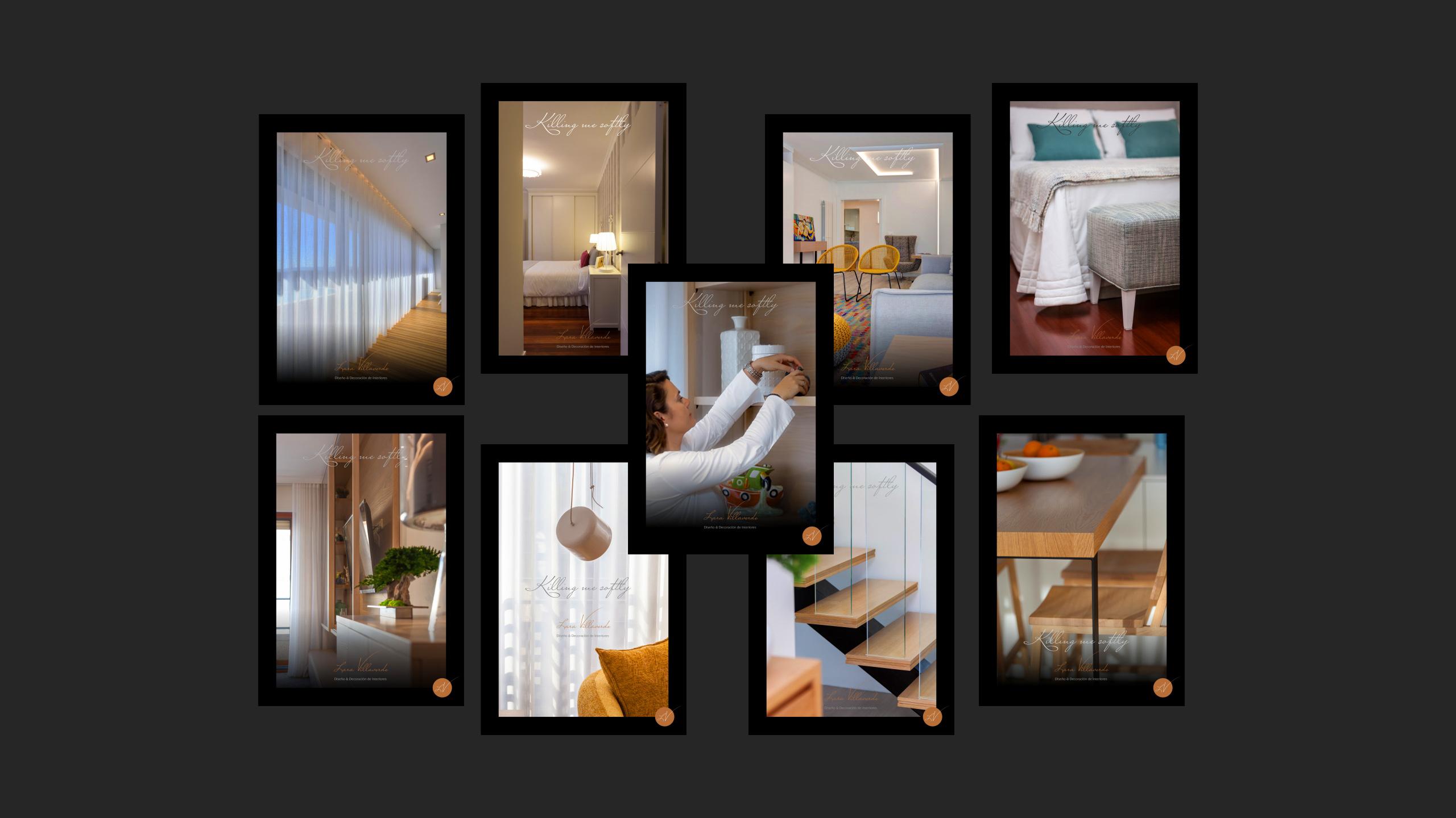 Diseño catalogo promocional Lara Villaverde 2