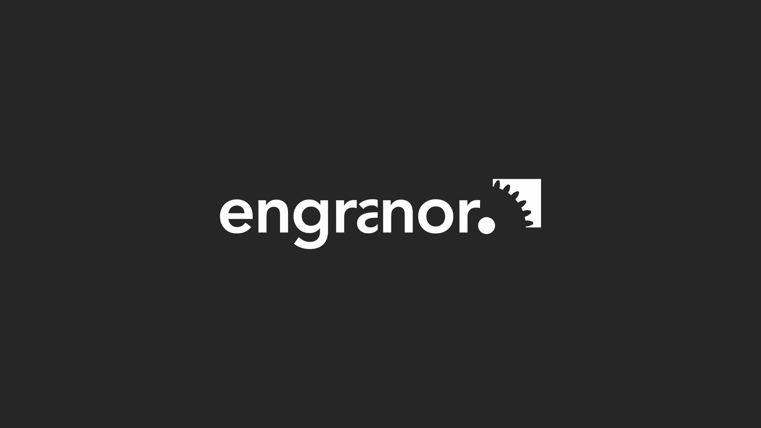 Diseño engranor diseño logotipo