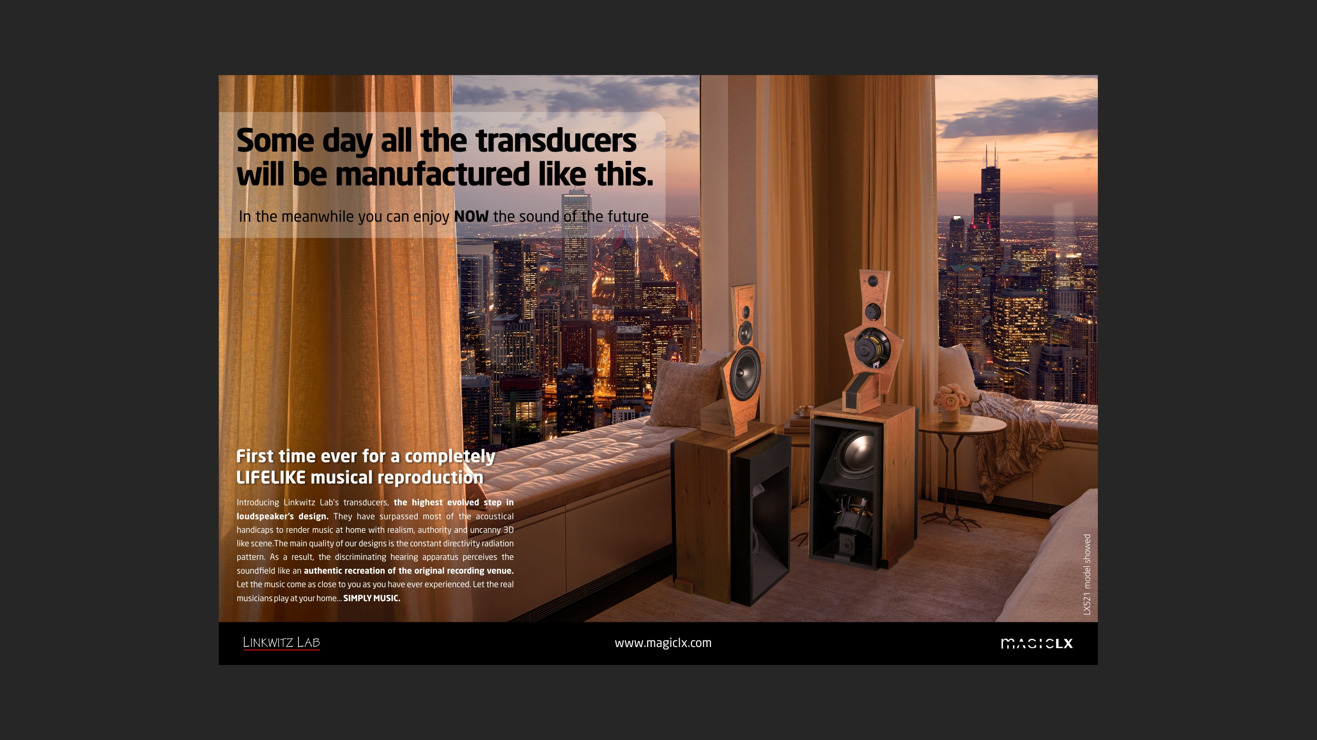 Diseño magiclx lx521 ad
