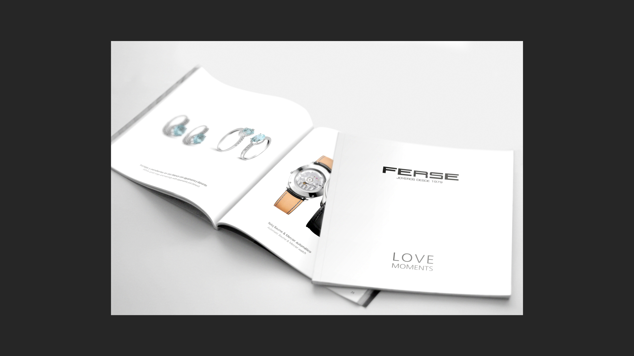 diseño catalogo de producto ferese