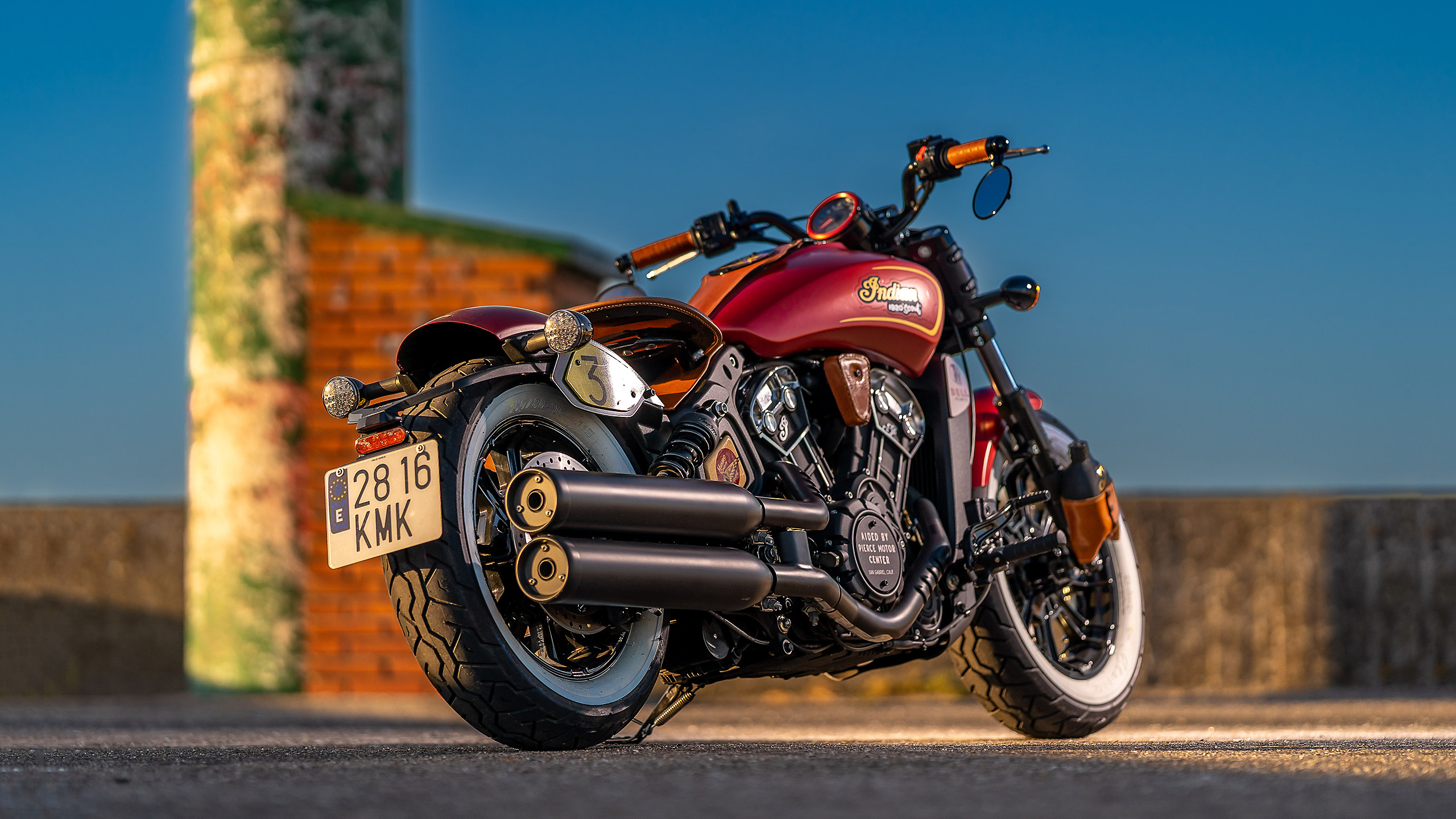 Indian Scout Munro Tribute 6