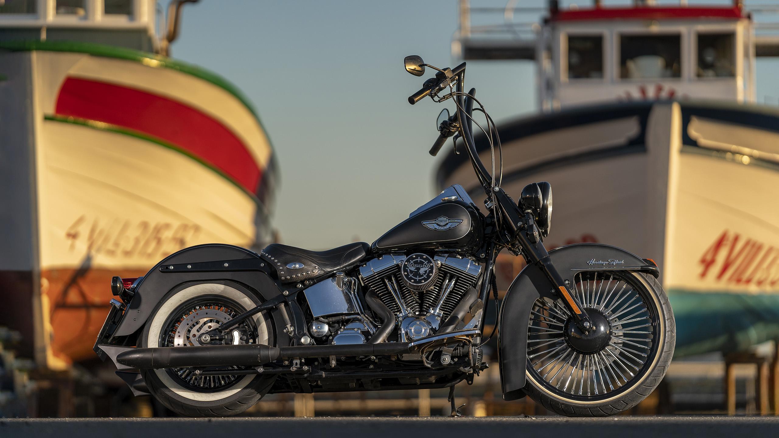 Harley Davidson Softail Heritage Anniversary 2003 3