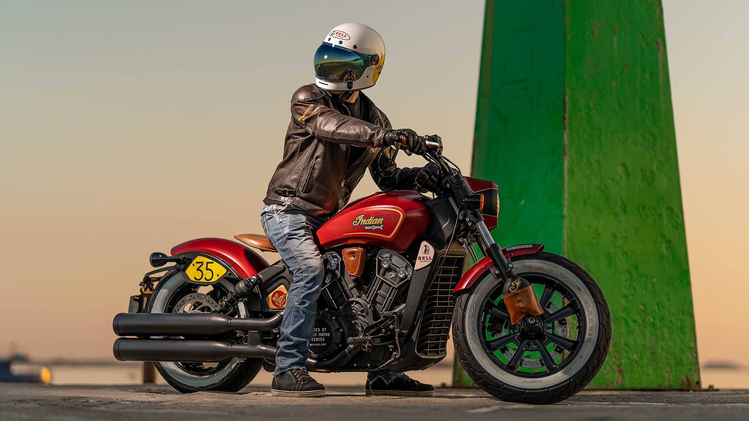 Indian Scout Munro Tribute 3