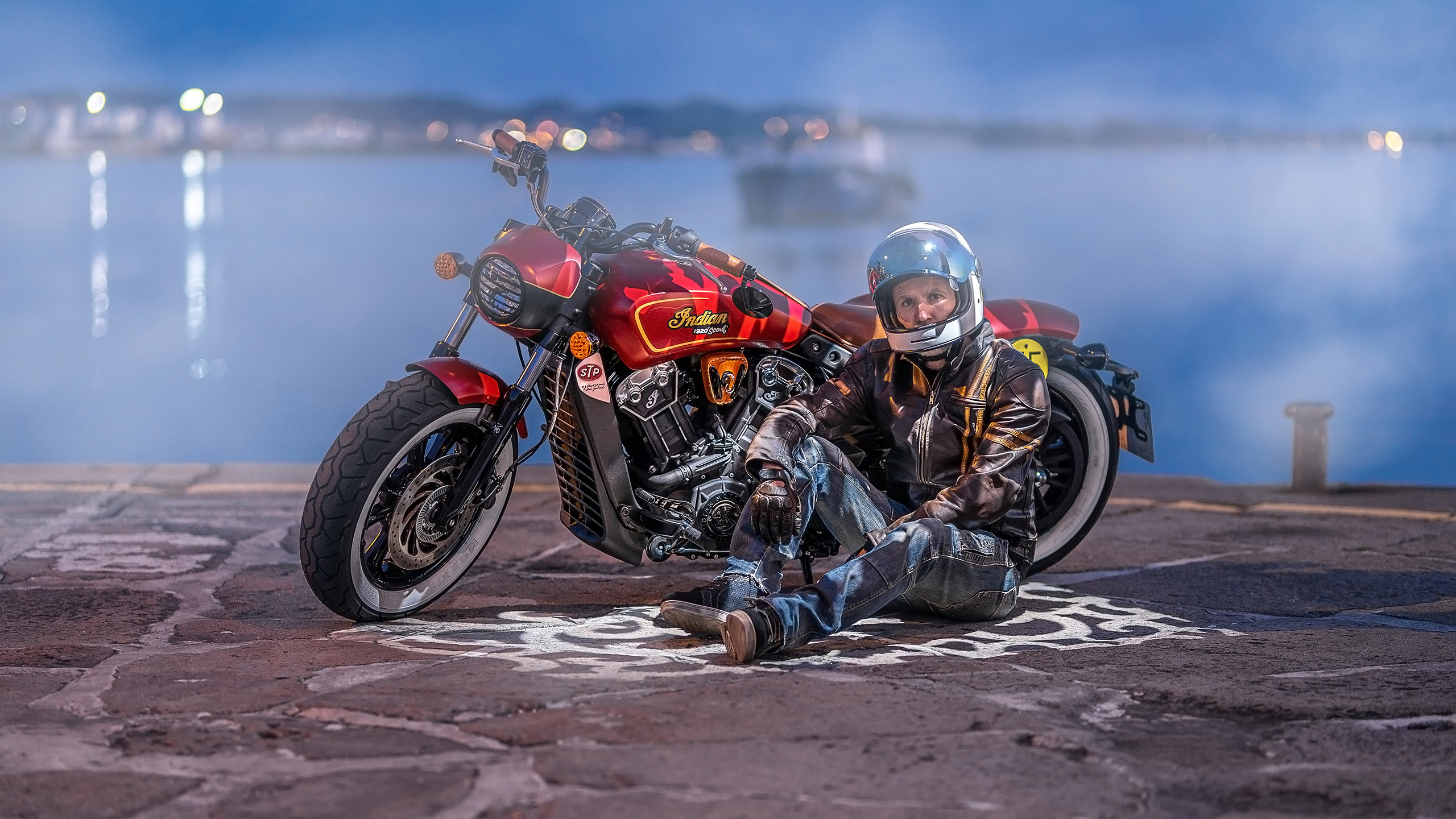 Indian Scout Munro Tribute 7